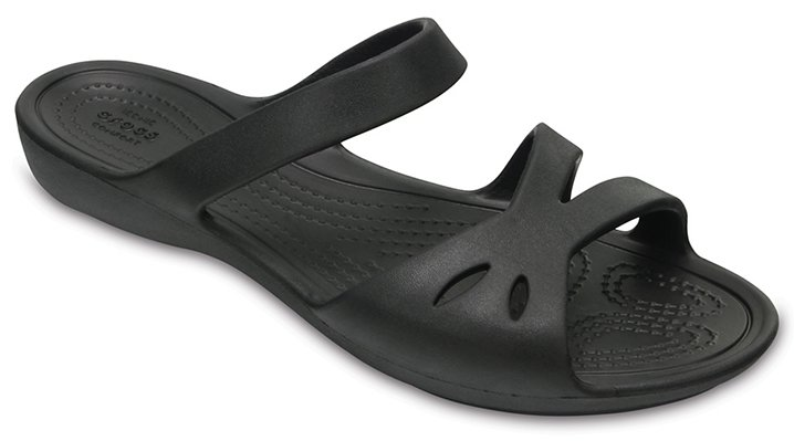 Crocs Black Women's Crocs Kelli Sandals Shoes