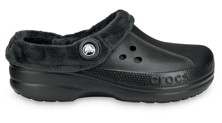 Crocs Black / Black Blitzen Polar Comfortable Furry Clog