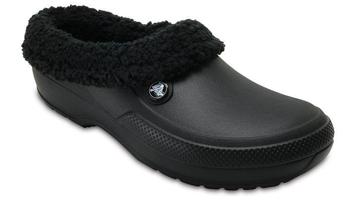 Crocs Black / Black Classic Blitzen Iii Clog Shoes
