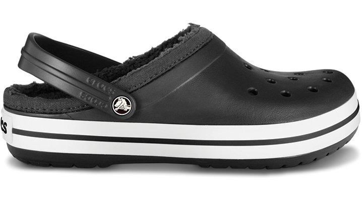 Crocs Black / Black Crocband Mammoth Clog Comfortable Clogs
