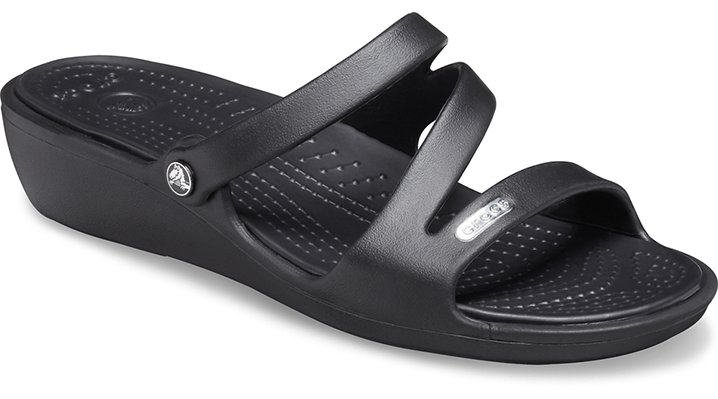 Crocs Black / Black Patricia Women's Comfortable Sandals
