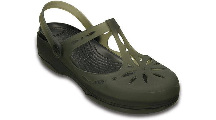 Crocs Black / Black Women'S Crocs Carlie Cut Out Clog Shoes