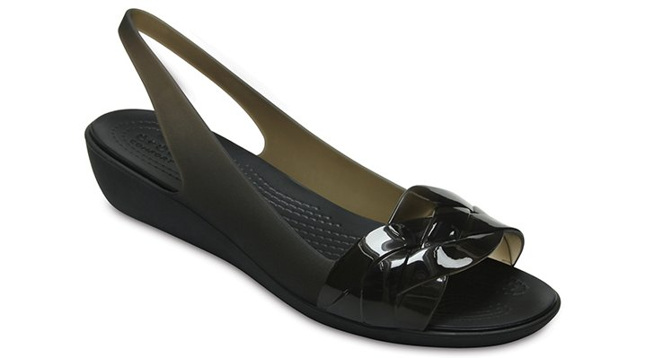 Crocs Black / Black Women's Crocs Isabella Slingback Shoes