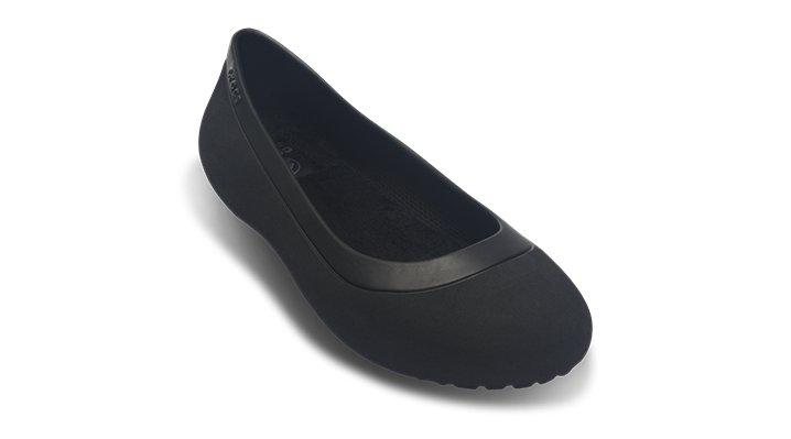 Crocs Black / Black Women'S Mammoth Flat Shoes