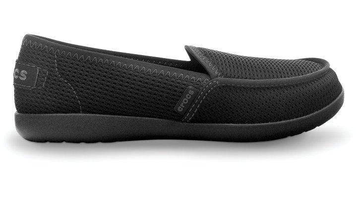 Crocs Black / Black Womens Melbourne Rx Comfortable Women's Medical Shoes