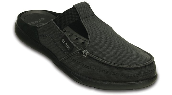 Crocs Black / Black Women'S Walu Mule Shoes