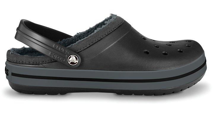 Crocs Black / Graphite Crocband Mammoth Clog Comfortable Clogs