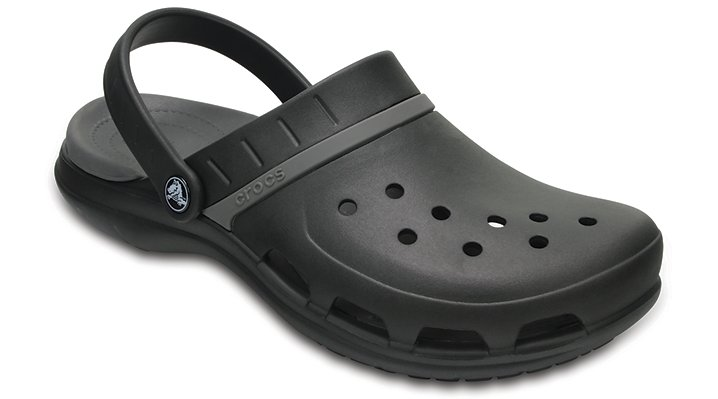 Crocs Black / Graphite Modi Sport Clogs Shoes