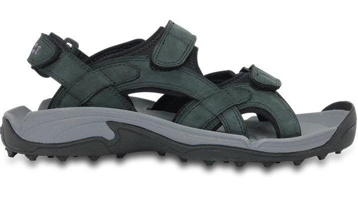 80e2a8abcab1 Crocs Black   Graphite Men s Crocs Xtg Lopro Golf Sandal Men s Golf Shoes