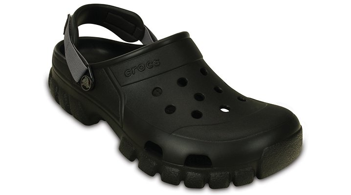 Crocs Black / Graphite Offroad Sport Clog Shoes