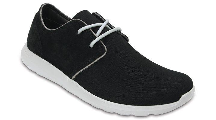 Crocs Black / Pearl Men's Crocs Kinsale 2-Eye Shoe Shoes
