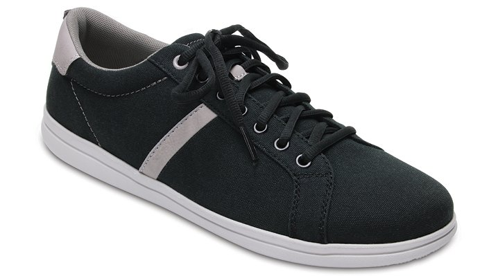 Crocs Black / Pearl Men's Crocs Torino Lace-Up Shoes