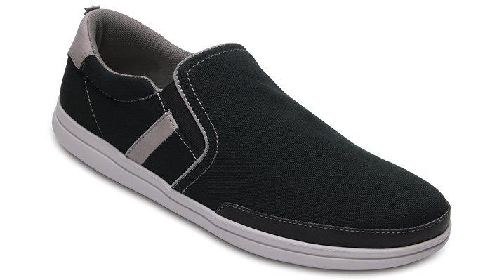 Crocs Black / Pearl Men's Crocs Torino Slip-Ons Shoes