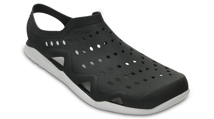 Crocs Black / Pearl Men's Swiftwater Wave Shoes