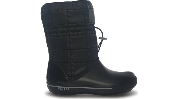 Crocs Black / Smoke Women's Crocband Ii.5 Winter Boot Women's Cute Winter Boots