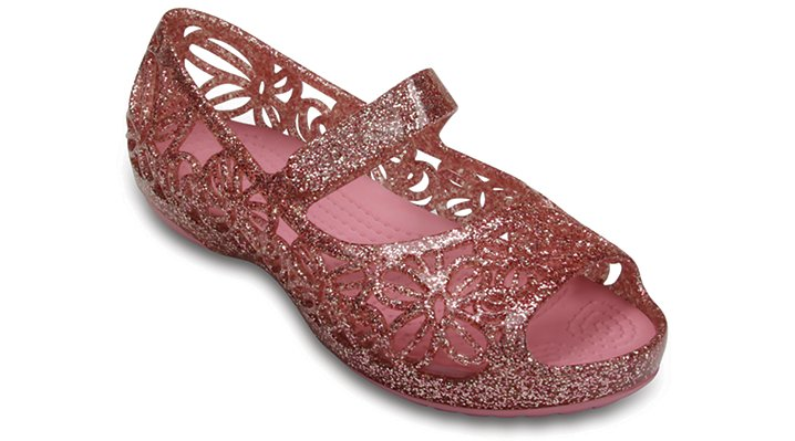 Crocs Blossom Crocs Isabella Glitter Flat (Children'S) Shoes