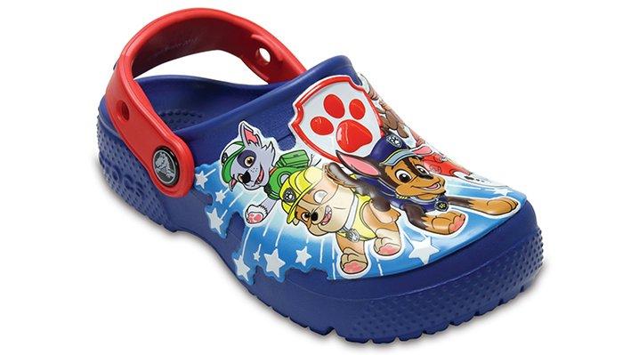 Crocs Blue Jean Boys' Crocs Fun Lab Paw Patrol Clogs Shoes