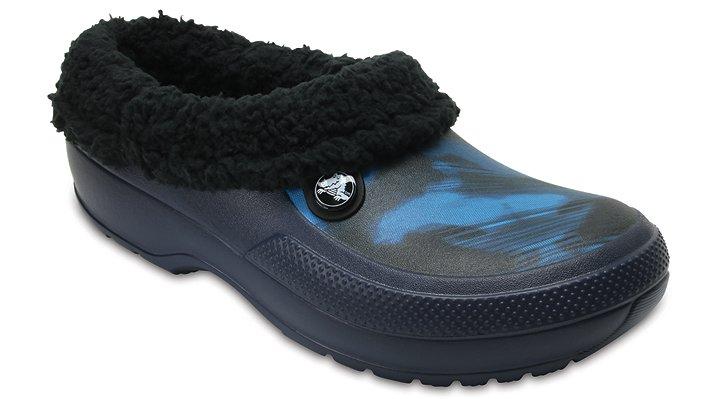 Crocs Blue Jean Classic Blitzen Iii Graphic Clog Shoes