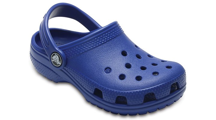 Crocs Blue Jean Kids' Classic Clog Shoes
