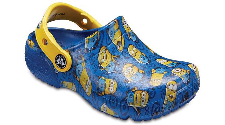 Crocs Blue Jean Kids' Crocs Fun Lab Minions™ Graphic Clogs Shoes