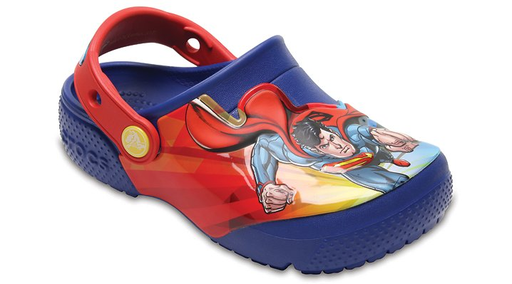 Crocs Blue Jean Kids' Crocs Fun Lab Superman™ Clog Shoes