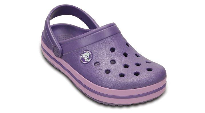 Crocs Blue Violet / Iris Kids' Crocband Kids' Comfortable Clogs