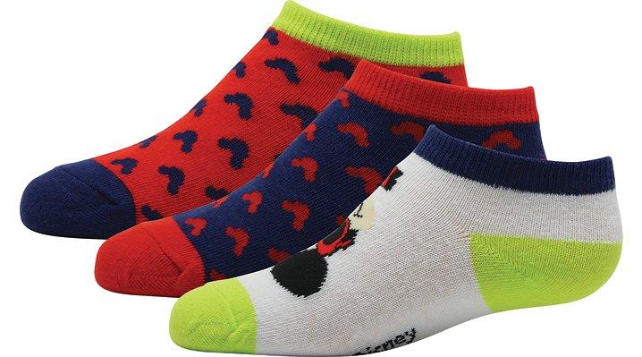 Crocs, Inc. Non Brand Blue  /  Green Crocs Disney® Mickey Mouse® Socks