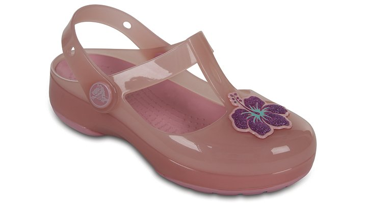 Crocs Blush Kids' Crocs Isabella Clogs Shoes