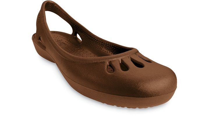 Crocs Women S Shoes Adrina Iii Flat Blue Candy Pink