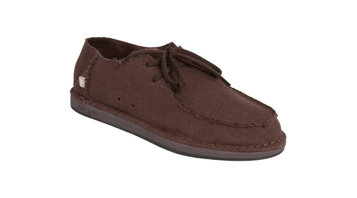 Ocean Minded Brown Uppers Woven Men's Comfortable Shoes