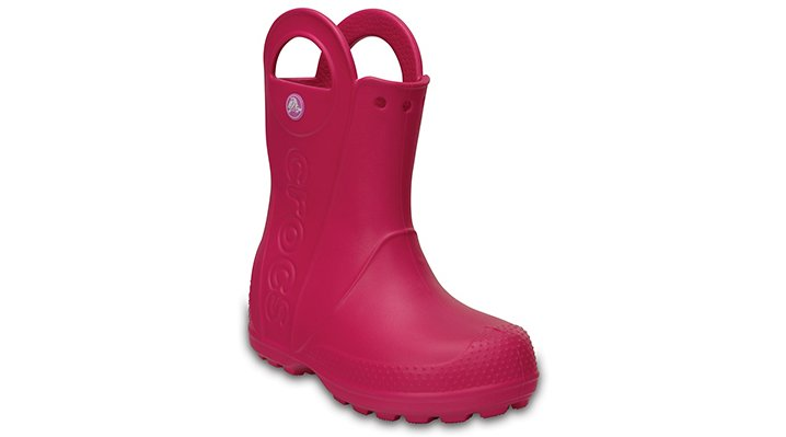 Crocs, Inc. Crocs Candy Pink Kids' Handle It Rain Boot Shoes