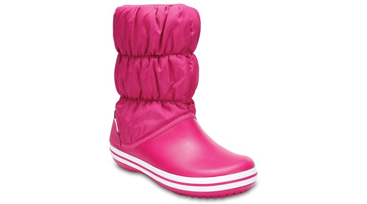 Crocs Candy Pink / Candy Pink Women'S Winter Puff Boot Shoes