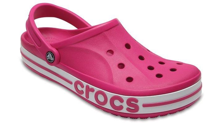 Crocs Candy Pink / Carnation Bayaband Clogs Shoes