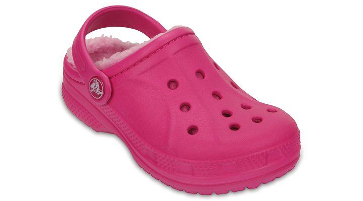 Crocs Candy Pink / Carnation Kids' Crocs Winter Clog Shoes