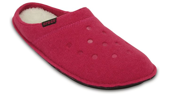 Crocs Candy Pink / Oatmeal Classic Slipper Shoes