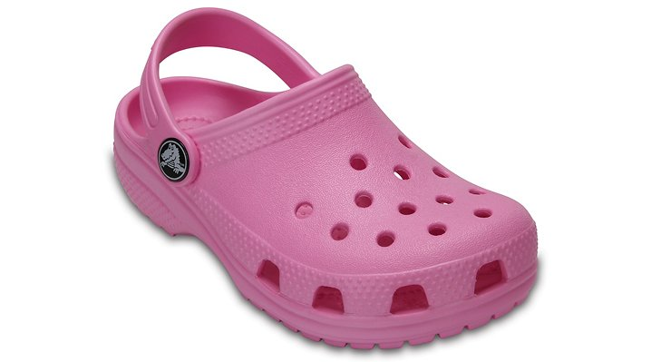 Crocs Carnation Kids' Classic Clog Shoes