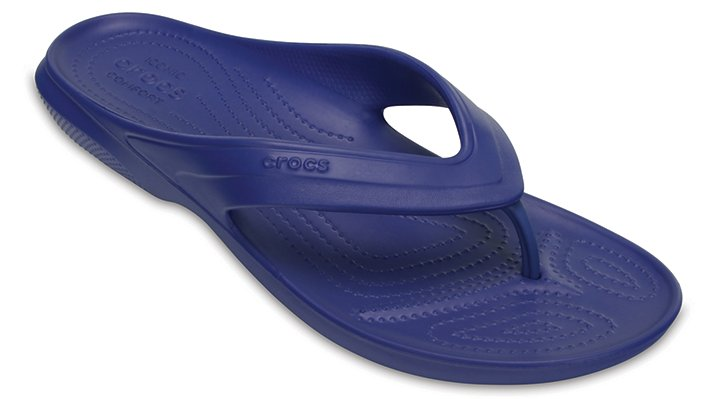 Crocs Cerulean Blue Classic Flip Shoes