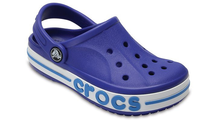 Crocs Cerulean Blue Kids' Bayaband Clogs Shoes