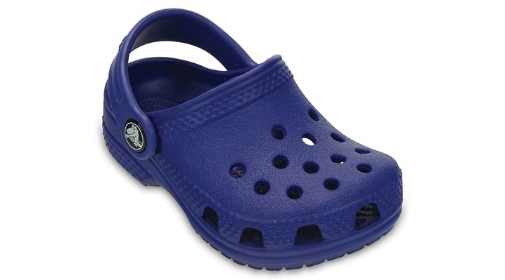 Crocs, Inc. Crocs Cerulean Blue Kids' Crocs Littles® Shoes