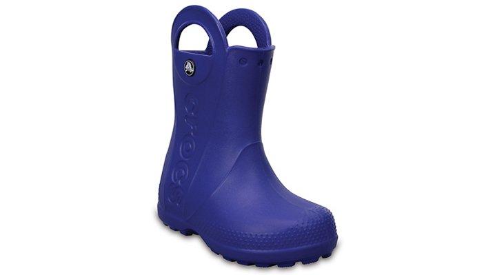 Crocs Cerulean Blue Kids' Handle It Rain Boot Shoes
