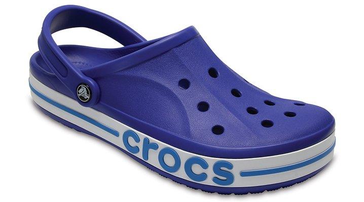 Crocs Cerulean Blue / Ocean Bayaband Clogs Shoes