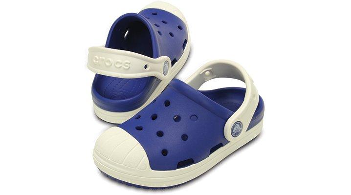 クロックス 公式オンラインショップ【クロックス公式】【送料無料】【最短翌日お届け】 クロックス バンプ イット クロッグ キッズ - Crocs Bump It Clog Kids 18cm ブルー クロッグ(定番) サンダル