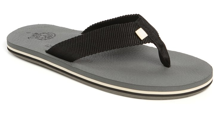 Ocean Minded Charcoal Men`s Refugio Shoes