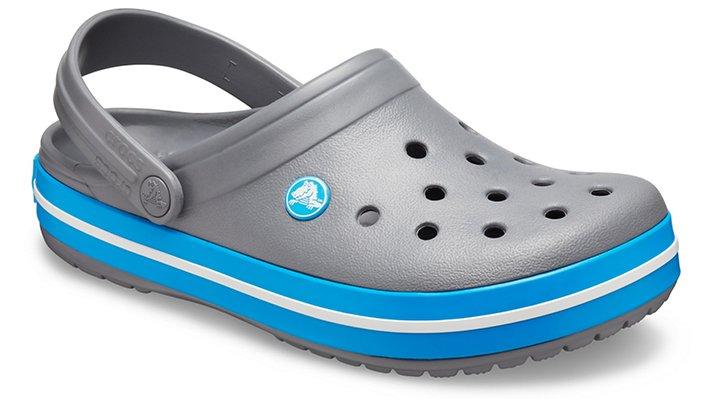 Crocs Charcoal / Ocean Crocband™ Clog Shoes