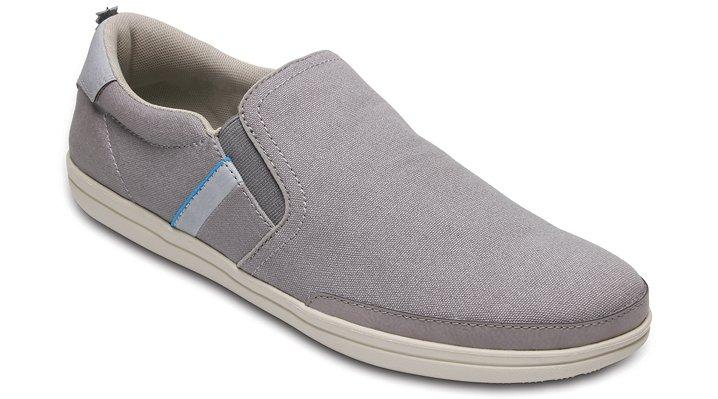 Crocs Charcoal / Stucco Men's Crocs Torino Slip-Ons Shoes