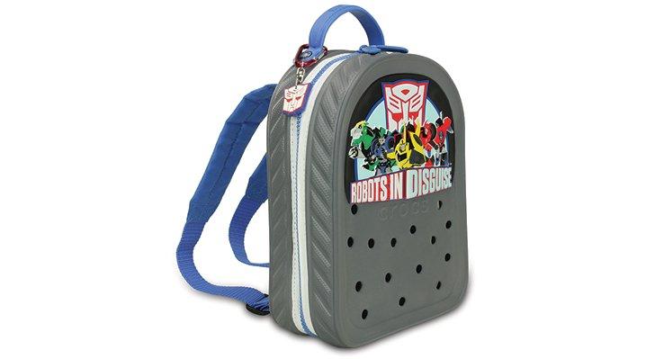 Jibbitz Charcoal / Varsity Blue Crocband™ Transformers™ Backpack Shoes