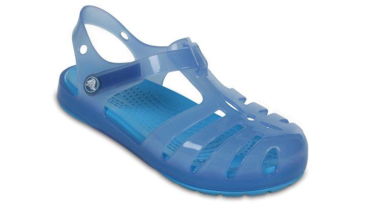 Crocs Dusty Blue Kids' Crocs Isabella Sandals Shoes