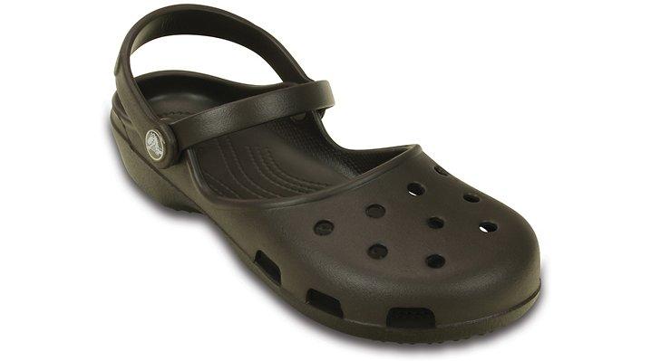 Crocs Espresso Women'S Crocs Karin Clog Shoes