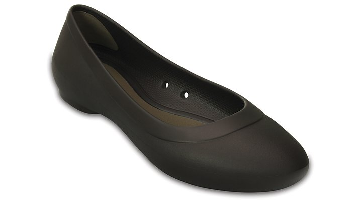 Crocs Espresso Women'S Crocs Lina Flat Shoes