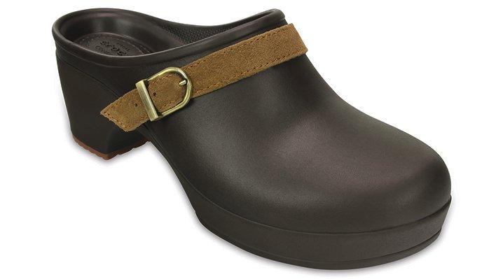 Crocs Espresso Women'S Crocs Sarah Clog Shoes